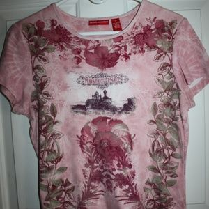 Pretty Pink Embellished T-Shirt